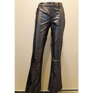 Guess Jeans Shiny Iridescent Pants Sz. 27 NWOT